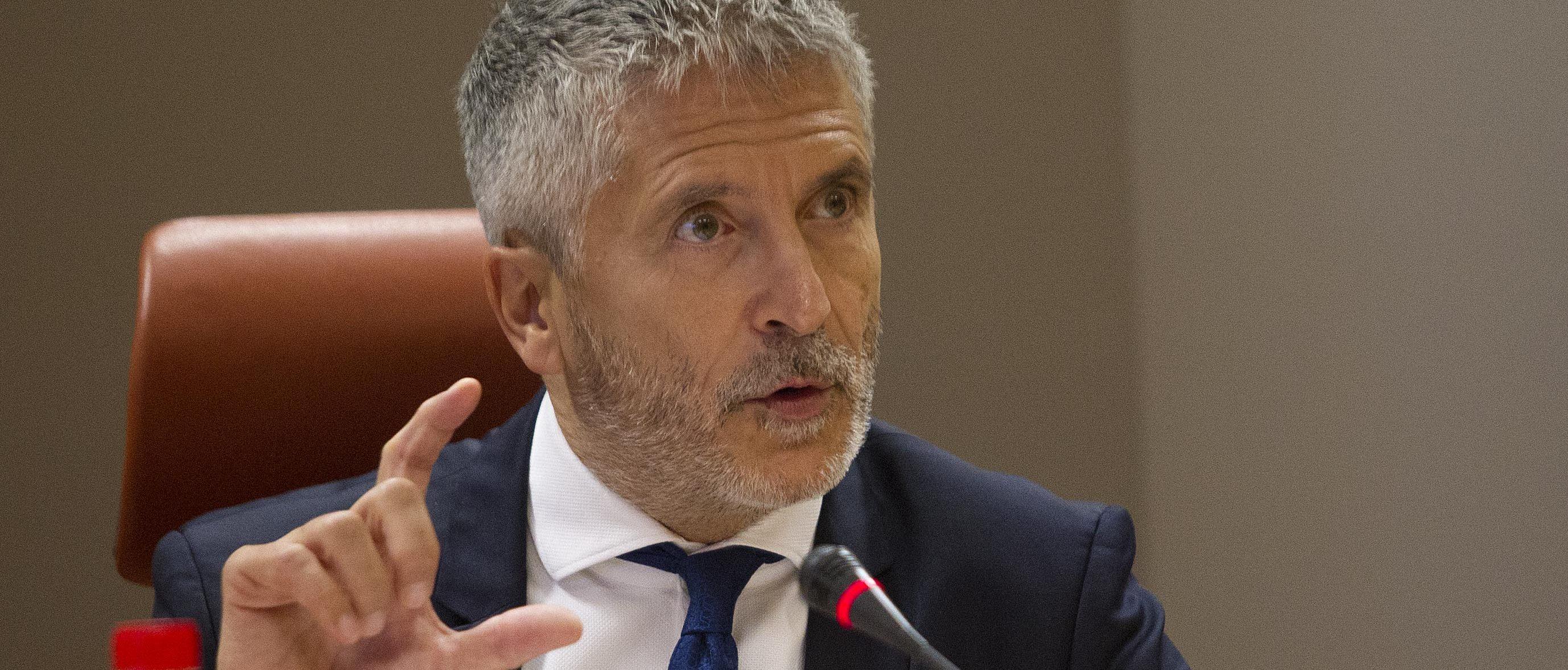 Fernando Grande-Marlaska, ministro del Interior en funciones.