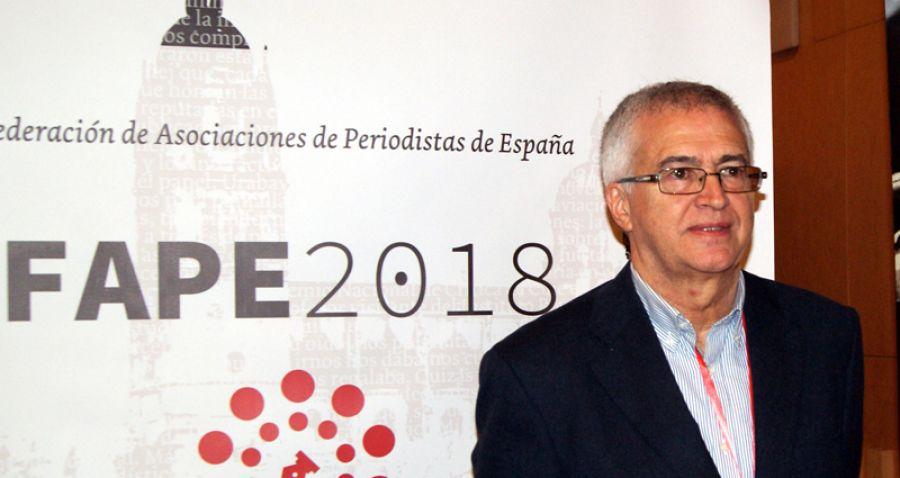 Nemesio Rodríguez, presidente de la FAPE.