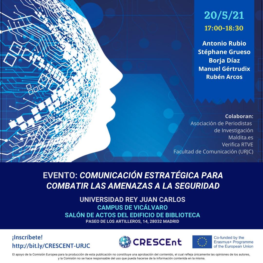 Comunicación estratégica aplicada a las amenazas a la seguridad: los resultados del proyecto 'Crescent'